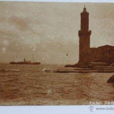 Postales: P-1857. FARO DE PORTO PI (MALLORCA). FOTOG. J. TRUYOL. FINAL AÑOS VEINTE. . Lote 50116128