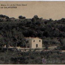Postales: POSTAL BARRANCO DE CALAPORTER ED. REMIGIO ALEJANDRE MAHON MENORCA HAUSER Y MENET. Lote 50206318