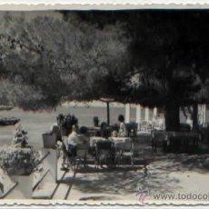 Postales: POSTAL FOTOGRAFICA HOTEL PLAYA CAMP DE MAR CLIENTES EN LA TERRAZA ANDRAITX MALLORCA ANIMADA. Lote 50207113