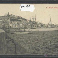 Postales: IBIZA - EIVISSA - 1 - VISTA GENERAL - THOMAS - (34151). Lote 50699097