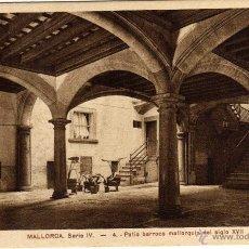 Postales: BONITA POSTAL - PALMA DE MALLORCA - PATIO BARROCO MALLORQUIN DEL SIGLO XVII. Lote 50749052