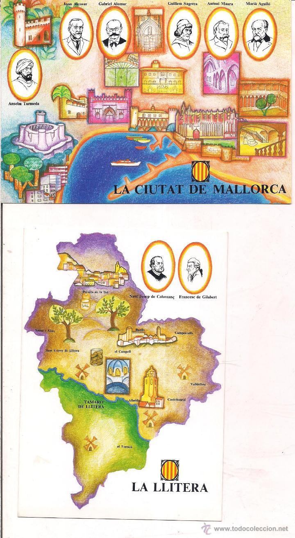 Ciudad De Mallorca Y La Litera Sin Circular Comprar Postales De