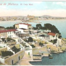 Postales: PALMA DE MALLORCA EL CORP MARI. Lote 50517087