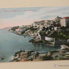 Postales: POSTAL PALMA DE MALLORCA, COSTA DEL TERRENO, COLOREADA. Lote 50941206