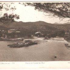 Postales: ANDRAITX MALLORCA PLAYA DE CAMP DE MAR. Lote 13583145