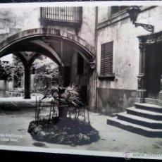 Postales: ANTIGUA POSTAL DE MALLORCA, Nº259 PATIO CASA VERÍ , FOTOGRAFÍA AM SIN CIRCULAR. Lote 50980546
