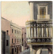Postales: PRECIOSA POSTAL - PALMA DE MALLORCA - CALLE DE PALACIO. Lote 51094580