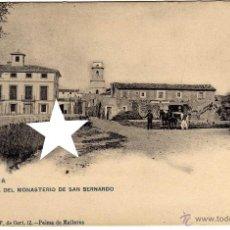 Postales: PRECIOSA POSTAL - PALMA DE MALLORCA - VISTA DEL MONASTERIO DE SAN BERNARDO - AMBIENTADA . Lote 51094848