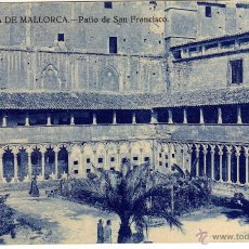 Postales: PRECIOSA POSTAL - PALMA DE MALLORCA - PATIO DE SAN FRANCISCO - AMBIENTADA . Lote 51094974