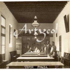 Postales: MAGNIFICA POSTAL FOTOGRAFICA - MALLORCA - LLUCH - FONDA - AMBIENTADA . Lote 51203016