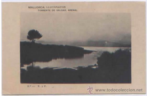 Postales: SERIE COMPLETA 12 POSTALES LLUCHMAYOR LLUCMAJOR ESTACION MERCADO HOTEL PLAZA MALLORCA ED. R. Y F. - Foto 2 - 51571860