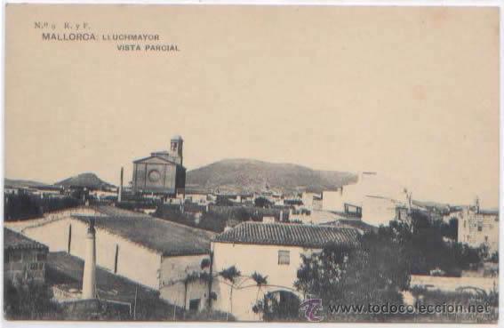 Postales: SERIE COMPLETA 12 POSTALES LLUCHMAYOR LLUCMAJOR ESTACION MERCADO HOTEL PLAZA MALLORCA ED. R. Y F. - Foto 4 - 51571860