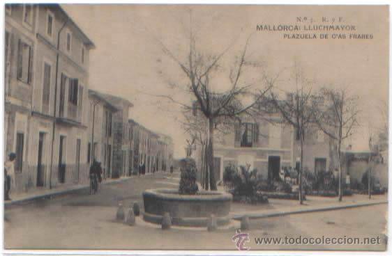 Postales: SERIE COMPLETA 12 POSTALES LLUCHMAYOR LLUCMAJOR ESTACION MERCADO HOTEL PLAZA MALLORCA ED. R. Y F. - Foto 6 - 51571860