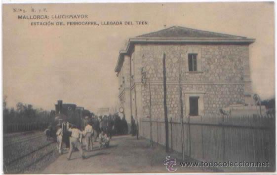 Postales: SERIE COMPLETA 12 POSTALES LLUCHMAYOR LLUCMAJOR ESTACION MERCADO HOTEL PLAZA MALLORCA ED. R. Y F. - Foto 8 - 51571860