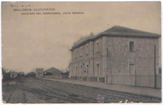 Postales: SERIE COMPLETA 12 POSTALES LLUCHMAYOR LLUCMAJOR ESTACION MERCADO HOTEL PLAZA MALLORCA ED. R. Y F. - Foto 9 - 51571860