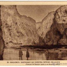 Postkarten - BONITA POSTAL - MALLORCA - SANTUARIO NTRA.SRA.DE LLUCH - TORRENT DE PAREYS JUNTO A SU DESEMBOCADURA - 51622669