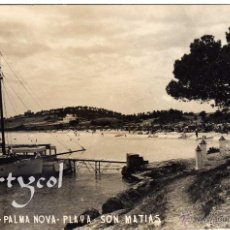 Postales: PRECIOSA POSTAL - MALLORCA - PALMA NOVA - PLAYA SON MATIAS - AMBIENTADA - FOTO MARTORELL. Lote 51675831