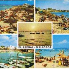 Postales: MALLORCA - EL ARENAL - CIRCULADA. Lote 51933965