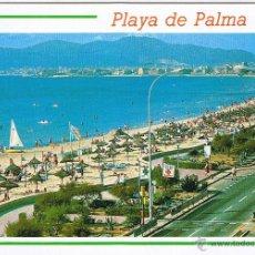 Postales: MALLORCA - EL ARENAL - PLAYA DE PALMA - CIRCULADA. Lote 51934113