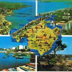 Postales: MALLORCA - EL ARENAL - CIRCULADA. Lote 51934197