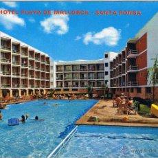 Postais: MALLORCA - SANTA PONSA - HOTEL PLAYA DE MALLORCA - CIRCULADA. Lote 51934953