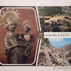 Postales: POSTAL MALLORCA - PALMA DE MALLORCA - NUESTRA SEÑORA DE LLUC - 1970 - SUBIRATS 2352 - SIN CIRCULAR . Lote 52318881