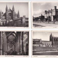 Postales: P- 2859. LOTE 7 POSTALES PALMA DE MALLORCA. CATEDRAL . FOTO TRUYOL.. Lote 52335959