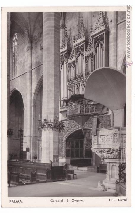 Postales: P- 2859. LOTE 7 POSTALES PALMA DE MALLORCA. CATEDRAL . FOTO TRUYOL. - Foto 2 - 52335959