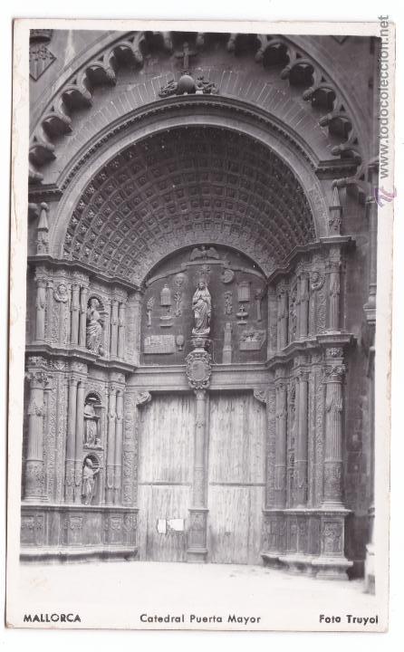 Postales: P- 2859. LOTE 7 POSTALES PALMA DE MALLORCA. CATEDRAL . FOTO TRUYOL. - Foto 3 - 52335959