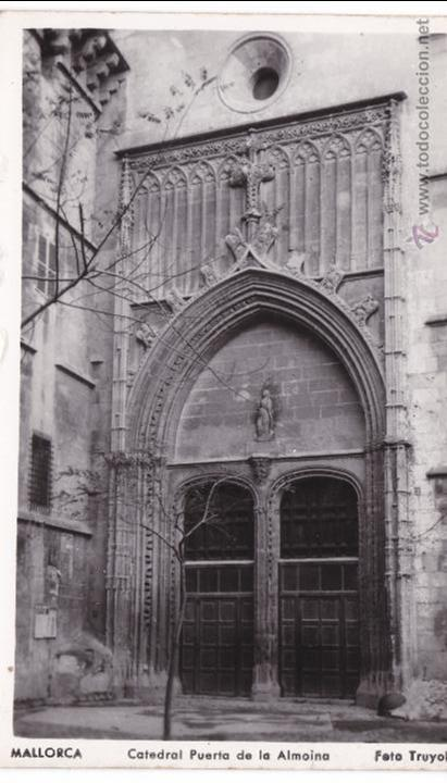 Postales: P- 2859. LOTE 7 POSTALES PALMA DE MALLORCA. CATEDRAL . FOTO TRUYOL. - Foto 4 - 52335959