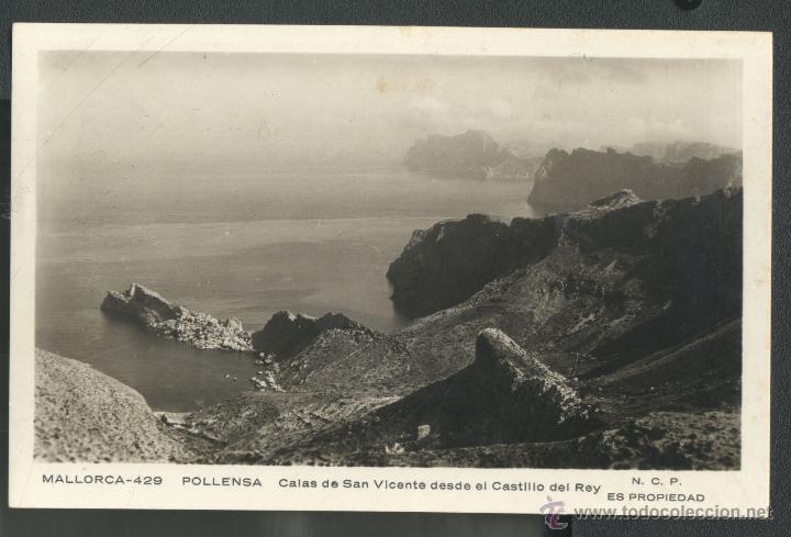 POLLENSA - CALA SAN VICENTE (Postales - España - Baleares Moderna (desde 1.940))
