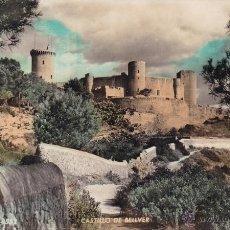 Postales: PALMA DE MALLORCA Nº 552 CASTILLO DE BELLVER CIRCULADA AÑO1958 FOTO ZERKOWITZ. Lote 52653190
