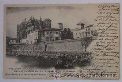 ANTIGUA POSTAL DE MALLORCA - AÑO 1902 (Postales - España - Baleares Antigua (hasta 1939))