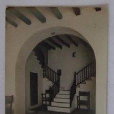 Postales: POSTAL FOTOGRAFICA - INTERIOR CASA FORNALUTX MALLORCA. Lote 52725780