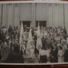 Postales: PORTAL IGLESIA SANTA EULALIA. PALMA DE MALLORCA. FESTIVIDAD DEL CORPUS? FOTOGRÁFICA. . Lote 52732396