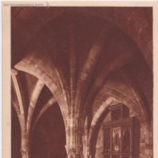 Postales: P- 3508. POSTAL DE MALLORCA. SERIE VII. Nº 10. PALMA, CRIPTA DE S. LORENZO. SIGLO XIII.. Lote 52883900