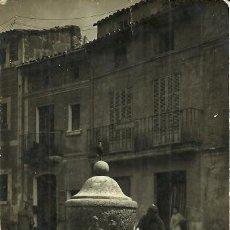 Postales: POLLENSA FUENTE DE LA ALMOINA - CIRCULADA - 1925. Lote 60516649