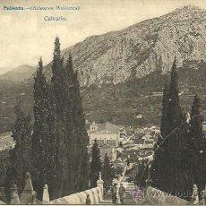 Postales: POLLENSA - CALVARIO - FOTO LACOSTE - SIN CIRCULAR. Lote 53309443