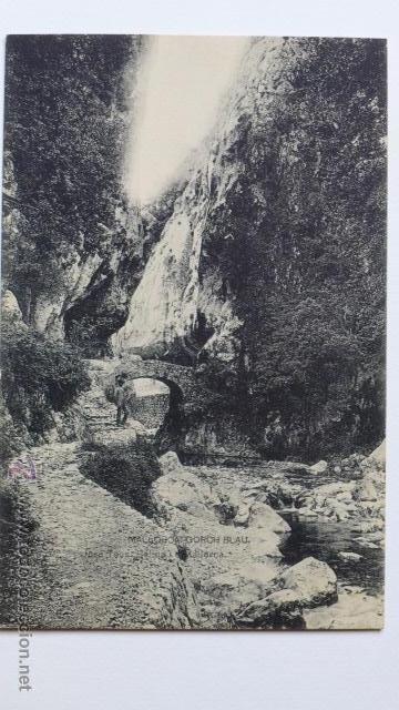 MALLORCA. GORCH BLAU. TORRENT DES GORG BLAU. FOTOTIPIA DE HAUSER Y MENET. (Postales - España - Baleares Antigua (hasta 1939))