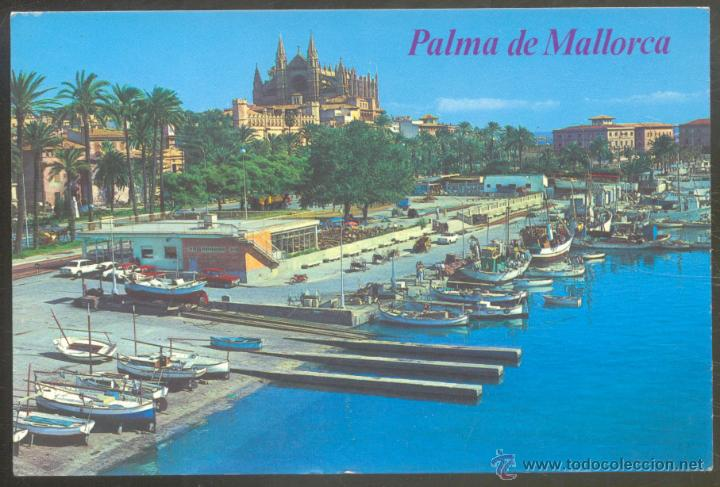 148 palma de mallorca puerto pesquero cat comprar postales de baleares en todocoleccion - Puerto de palma de mallorca ...