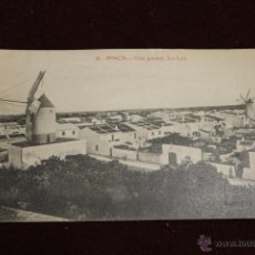 Postales: POSTAL MAHON, VISTA GENERAL, SAN LUIS, ED. BTUDURI. Lote 53761635