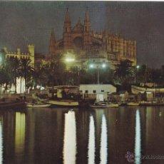 Postales: PALMA DE MALLORCA Nº 15135 PALMA DE MALLORCA Y CATEDRAL SIN CIRCULAR FOTO ICARIA . Lote 53787907