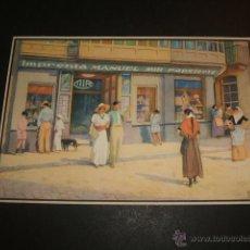 Postales: PALMA DE MALLORCA IMPRENTA Y PAPELERÍA MANUEL MIR POSTAL PUBLICITARIA . Lote 54064882