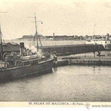 Postales: POSTAL DE PALMA DE MALLORCA - EL FARO. Lote 54123457