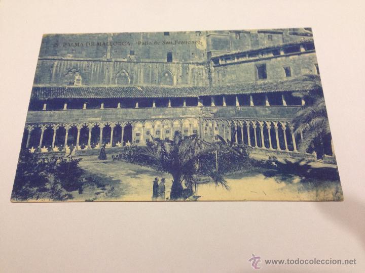 POSTAL PALMA DE MALLORCA. PATIO DE SAN FRANCISCO (Postales - España - Baleares Antigua (hasta 1939))
