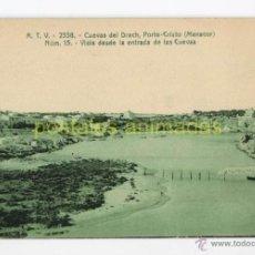 Postales: MALLORCA - CUEVAS DEL DRACH PORTO CRITO - ATV Nº2558. Lote 54189155