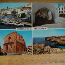 Postales: MENORCA - CIUDADELA. Lote 54403220