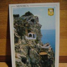 Postales: MENORCA - COVA D'EN XOROI. Lote 54403320