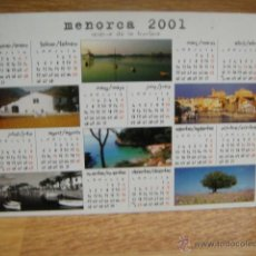 Postales: MENORCA -. Lote 54403700