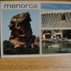 Postales: MENORCA - SA PENYA DE S'INDIO. Lote 54403872